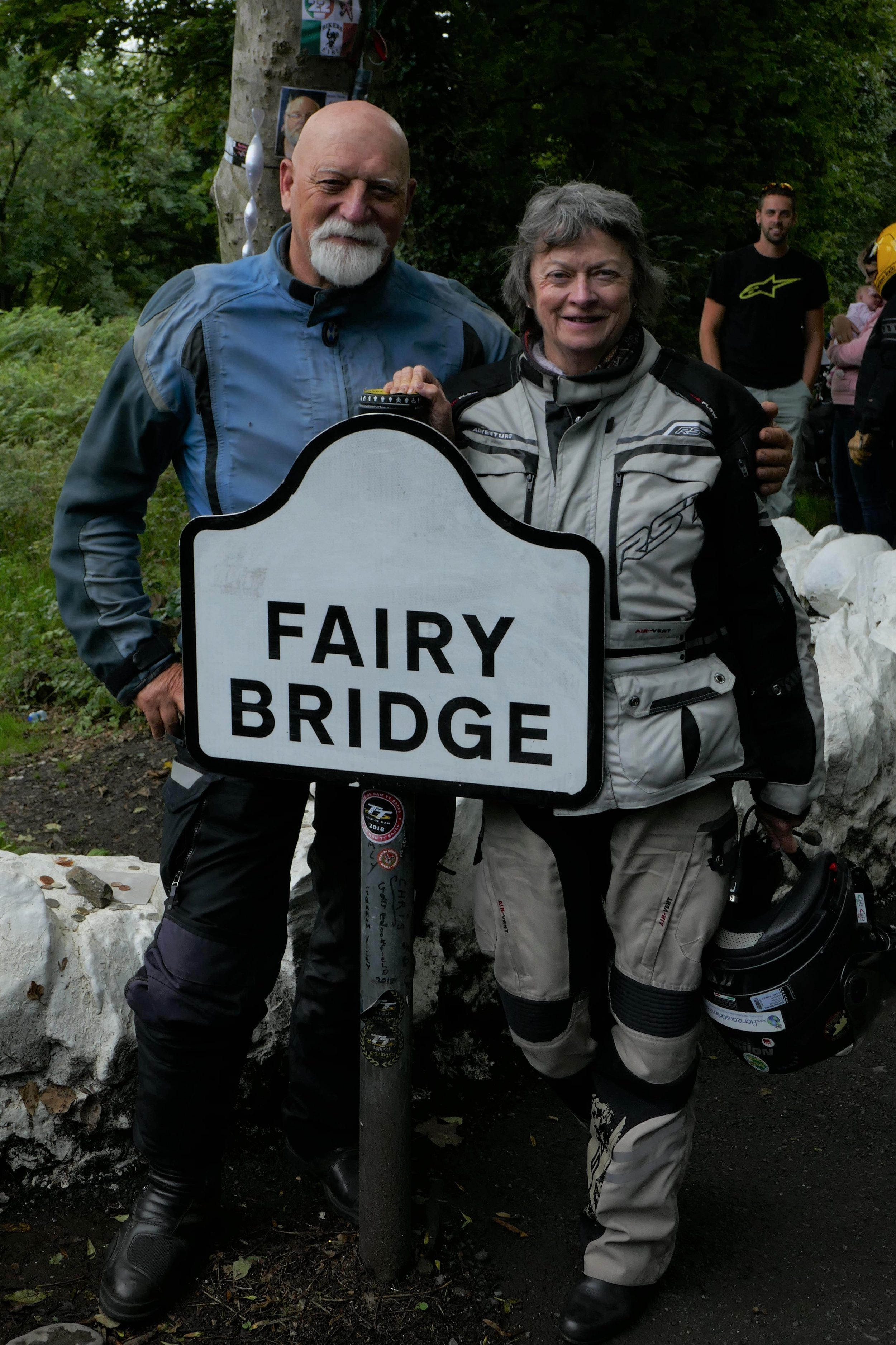 Brian Rix and Shirley Hardy-Rix