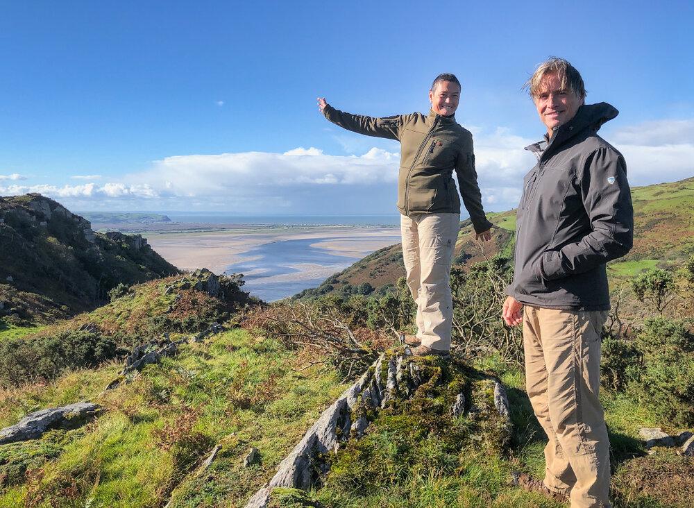 Simon & Lisa Thomas in Wales