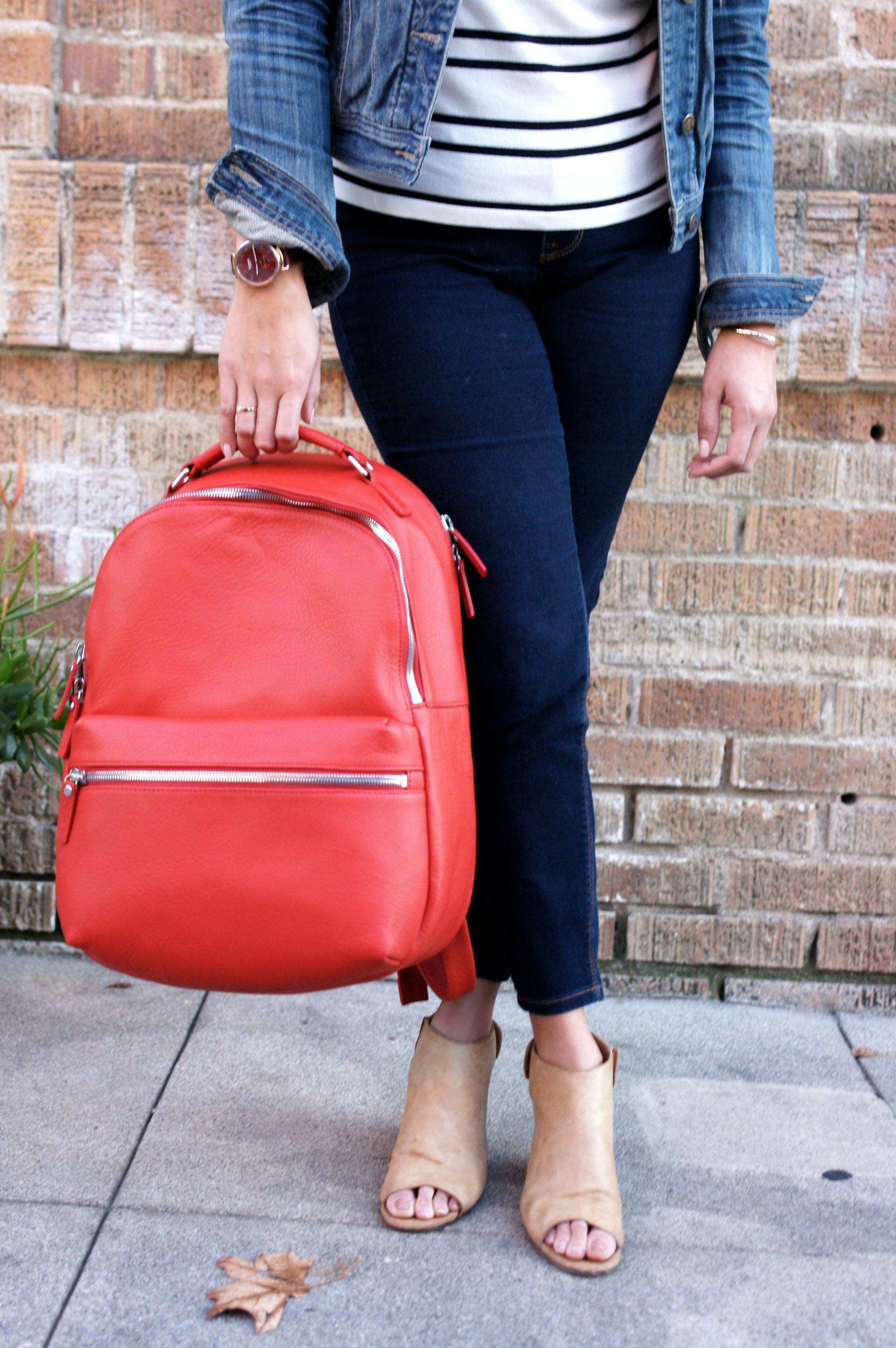 The Runwell Backpack from Shinola