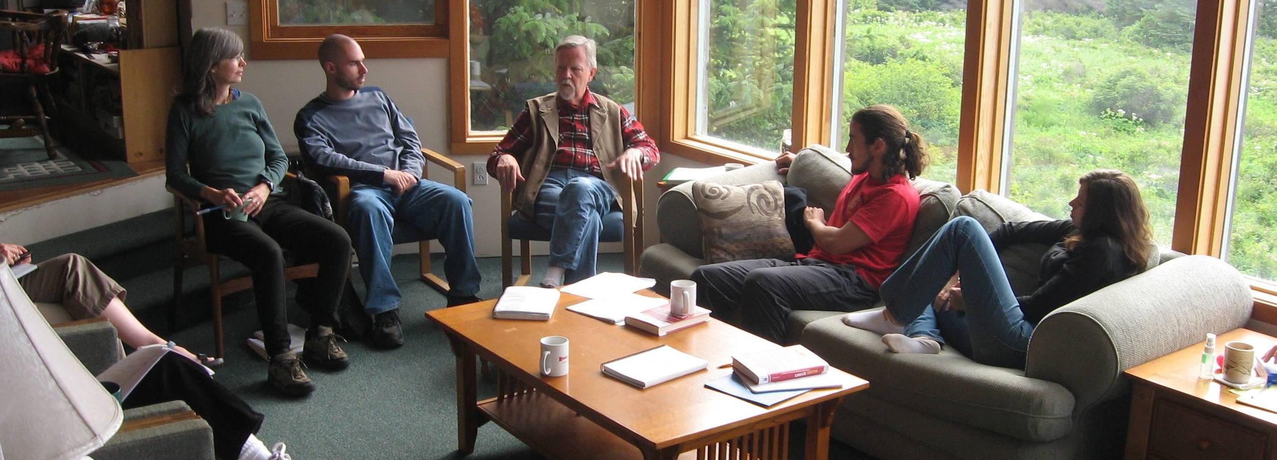 Workshop on Yukon Island, Alaska