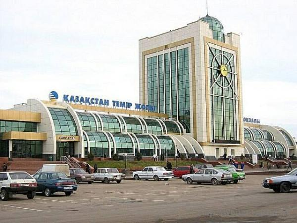 Astana railroad station