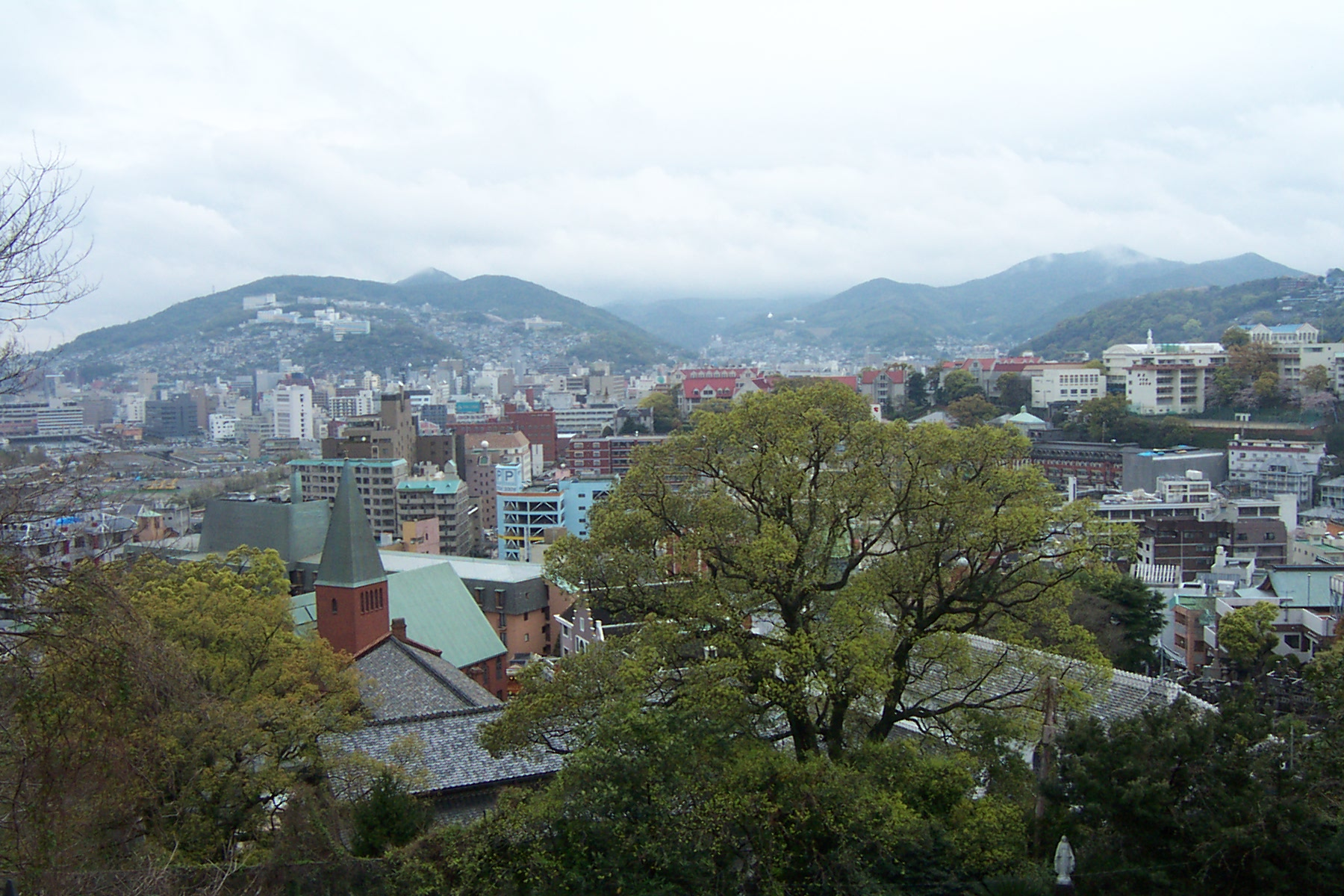 Nagasaki, on Japan's southernmost island, Kyushu