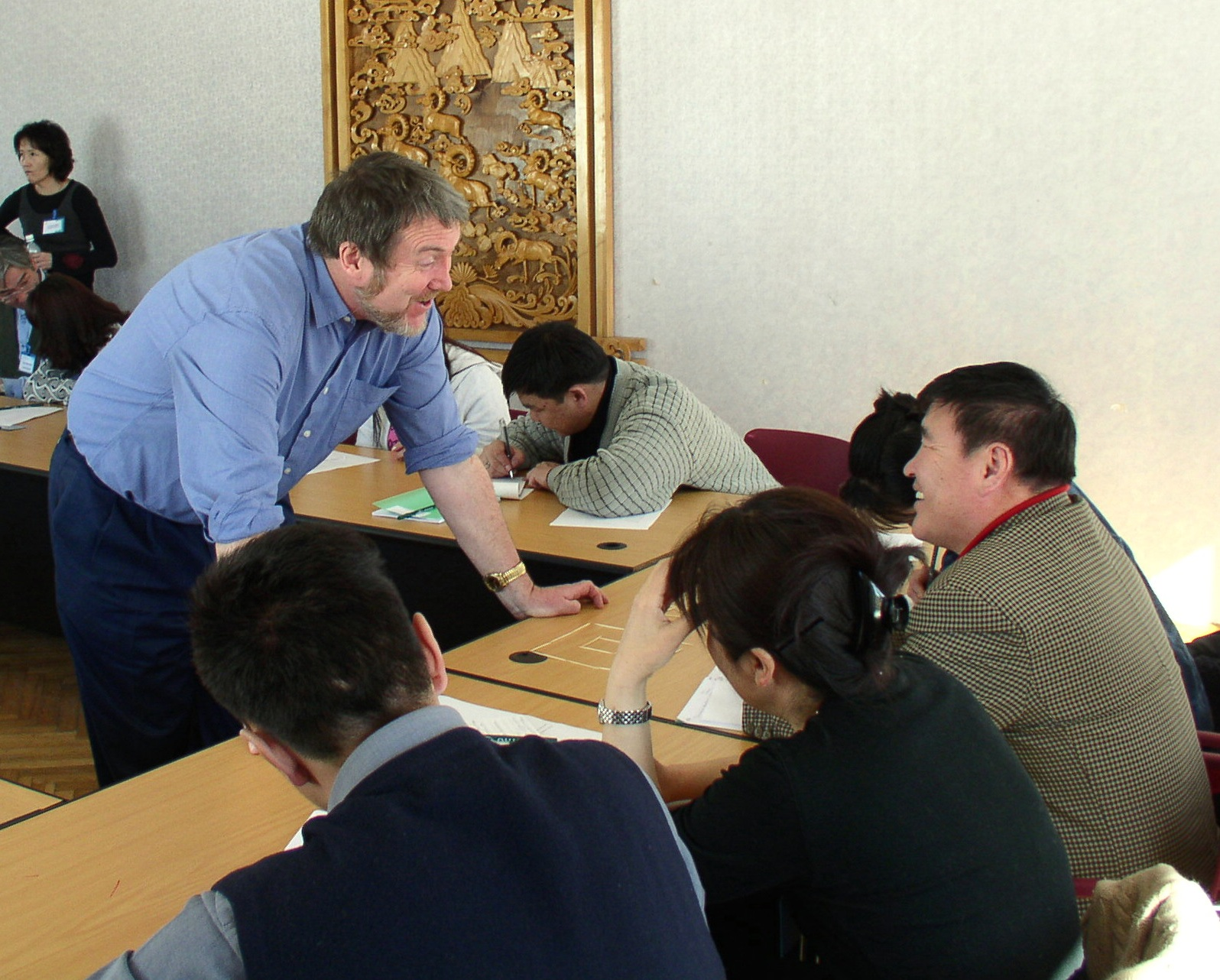 Training of trainers course for staff from Mongolian National Radio and Television, 2005