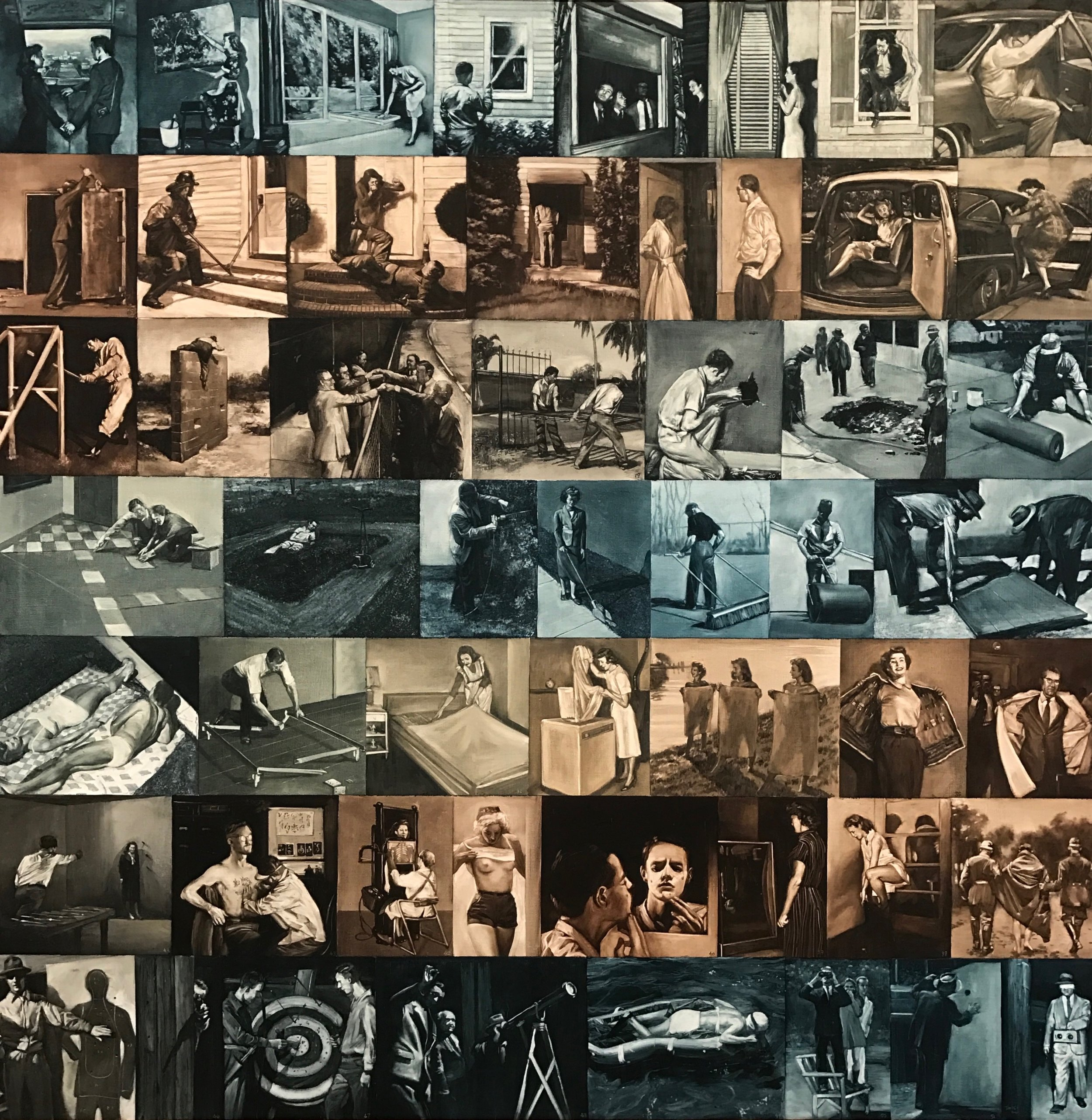 A Short History of Modernist Painting by Mark Tansey