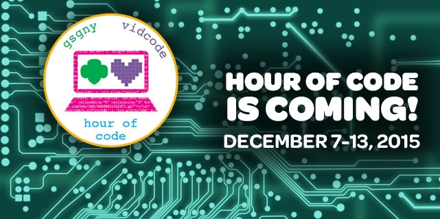 Hour of Code for teen girls