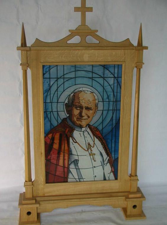 Św Jan Paweł II wersja niebieska