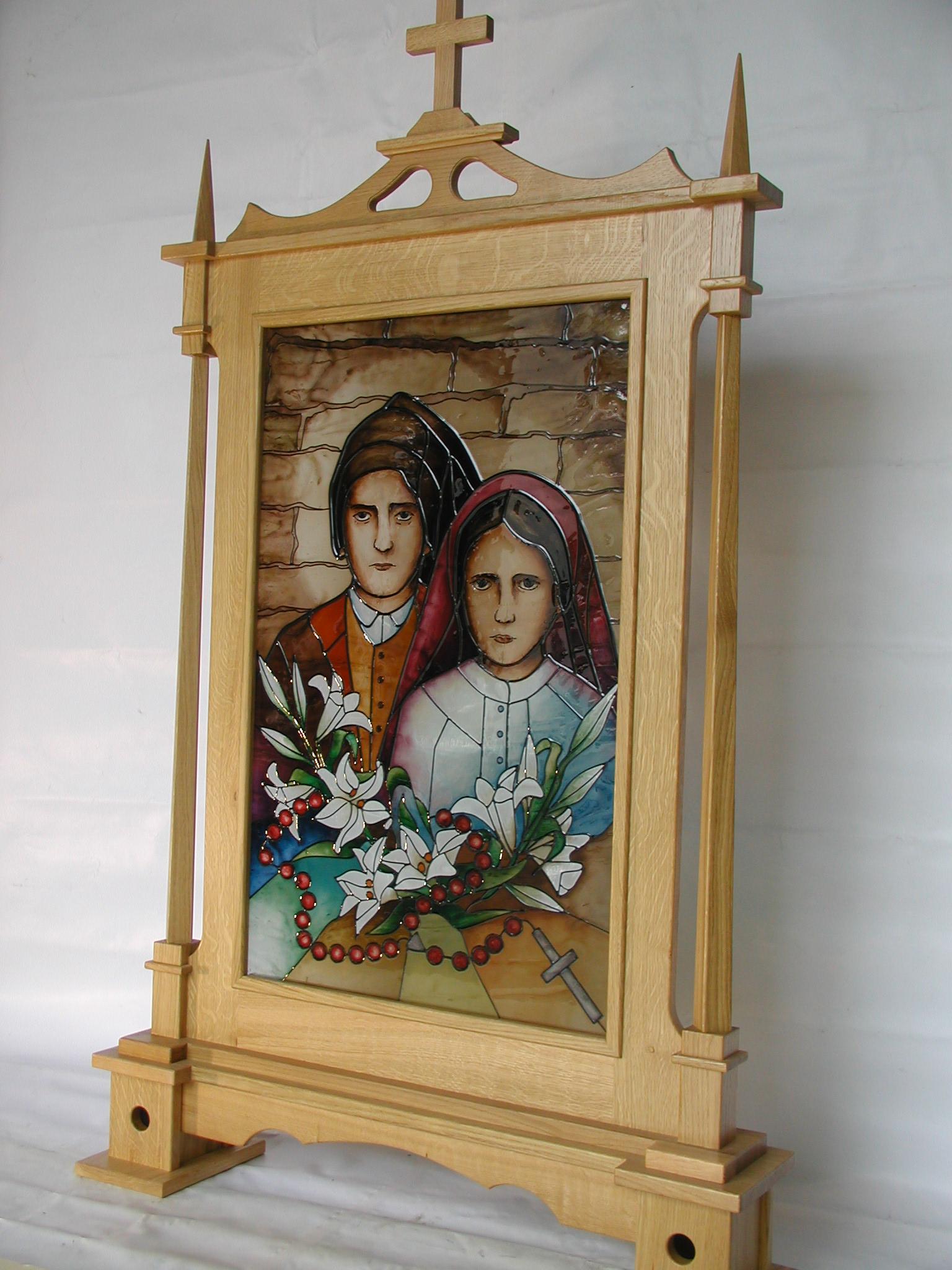 Feretron - Błogosławieni Hiacynta i Franciszek