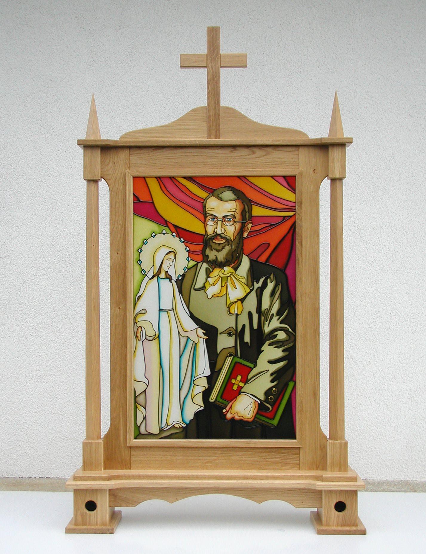 Bł Edmund Bojanowski - Feretron