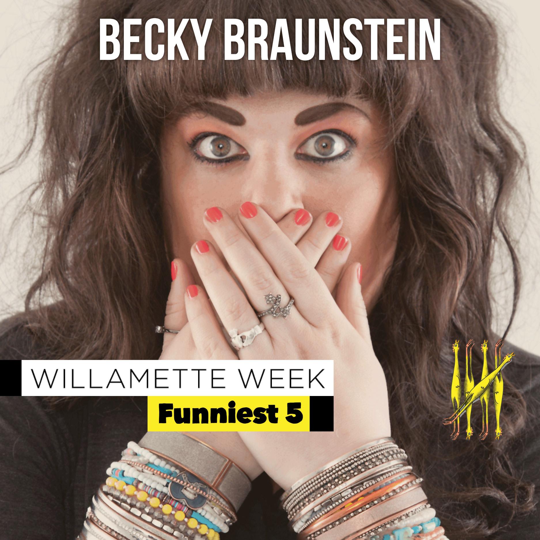 Becky Braunstein Funniest Five