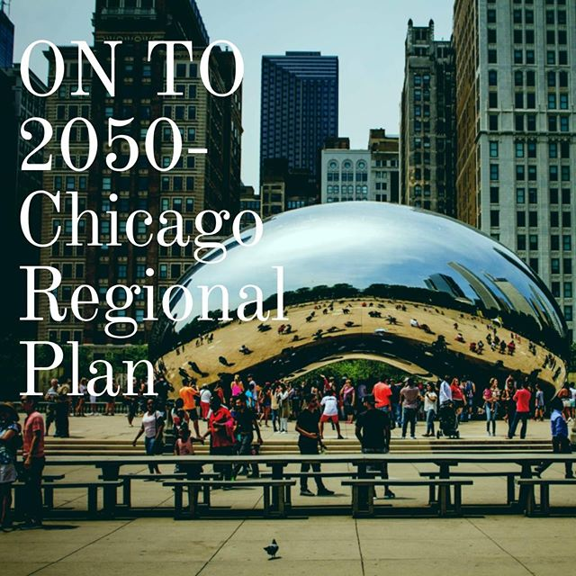 CMAP is developing the region's next comprehensive plan, ON TO 2050, scheduled for adoption in October 2018. It is a highly transparent and collaborative effort involving partners and stakeholders from across the seven counties and 284 communities of northeastern Illinois.