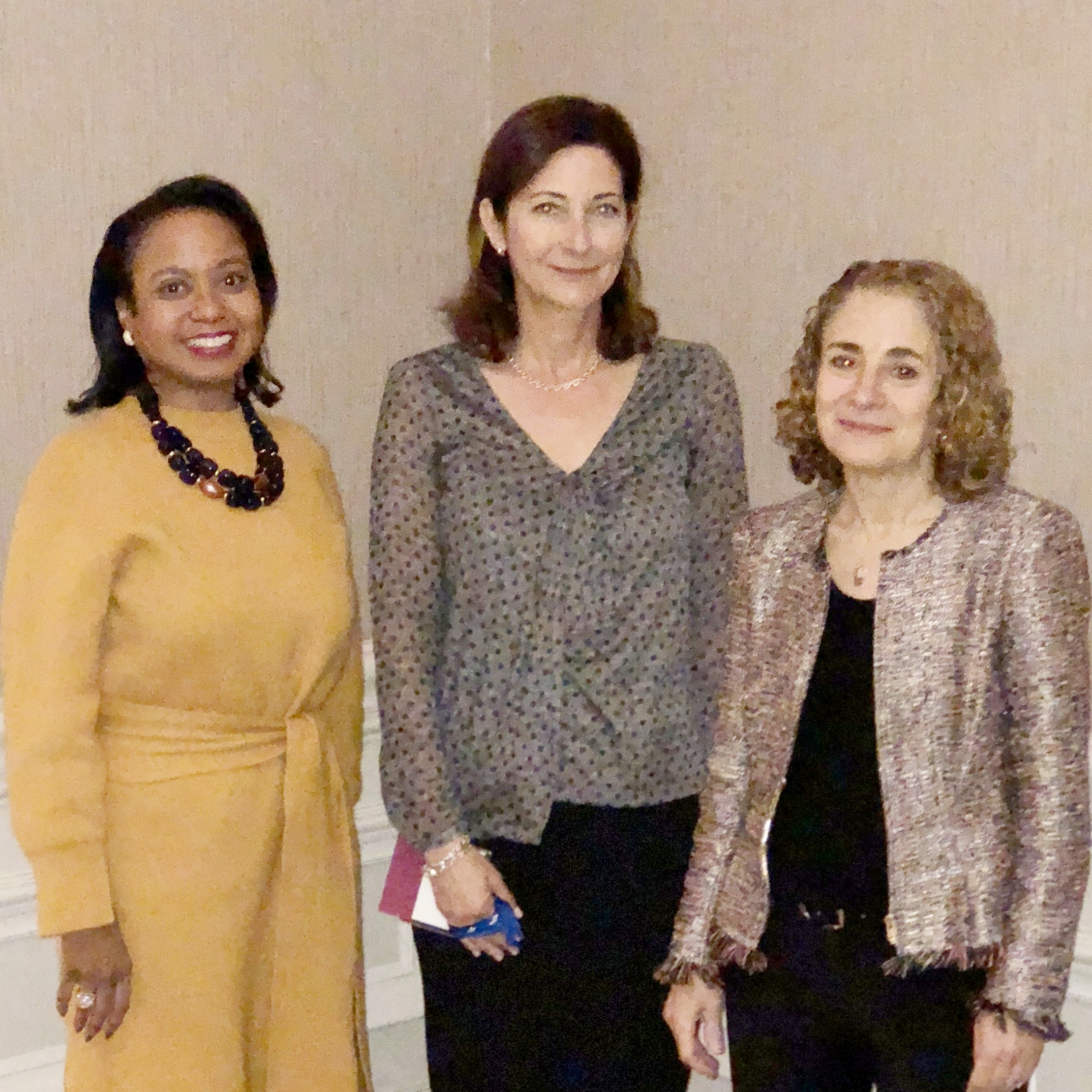 GLI CEO Donna Cryer with fellow panelists Elisabeth Rosenthal, Editor-in Chief of Kaiser Health News, and Amy Tendrich, Founder/Editor-in-Chief of DiabetesMine