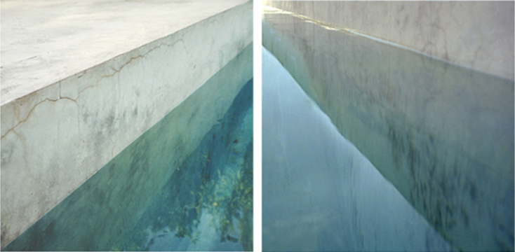Volumes and Lines Diptych #2