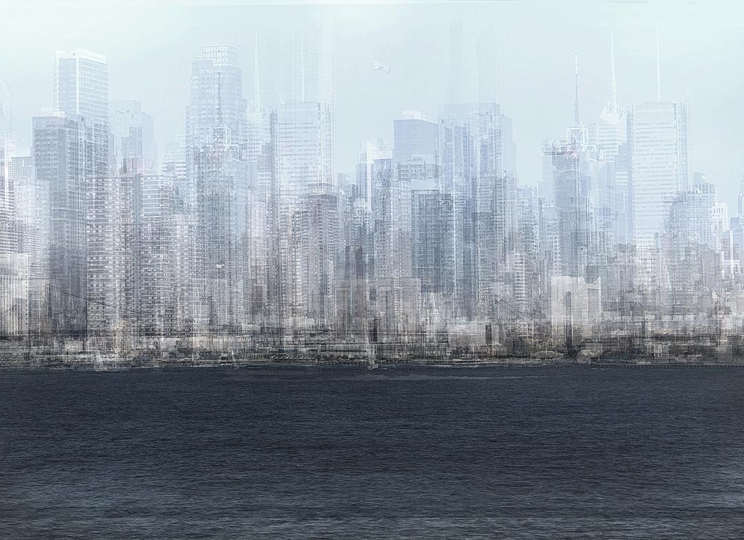 NYC Silver Skyline