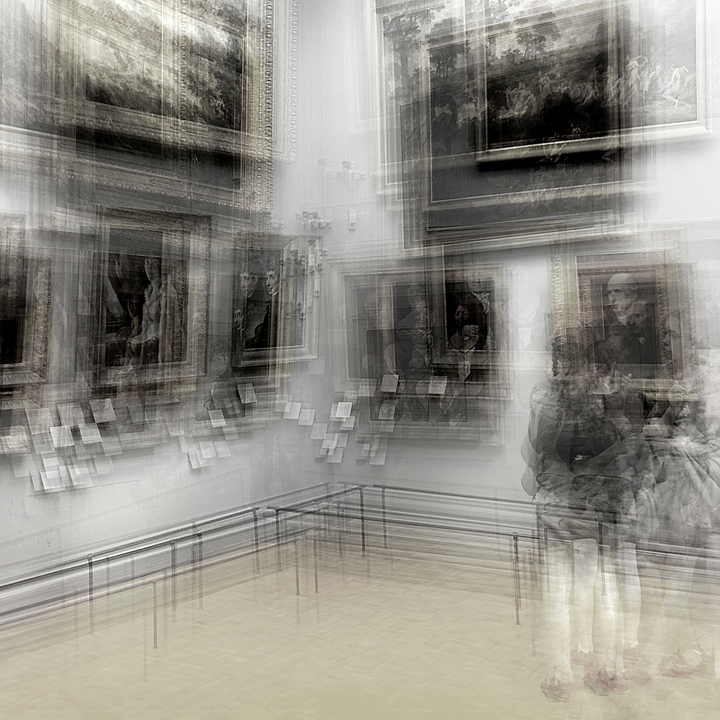 Girl at the Louvre