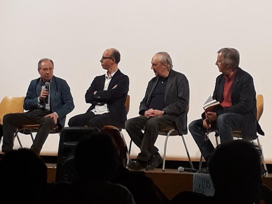 Stefano Delli Colli, Christian Uva, Dario Argento, Vito Zagarrio