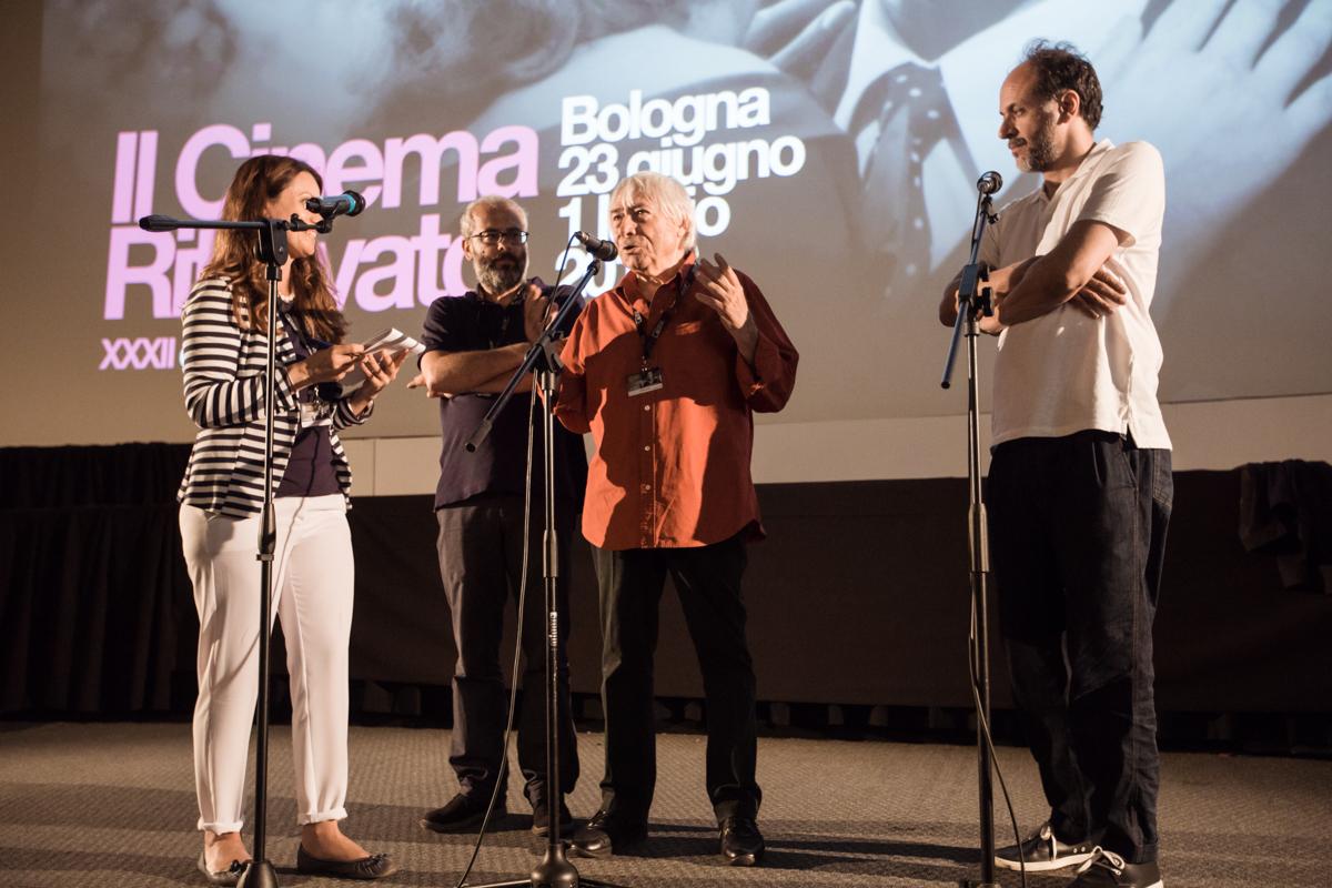 Emiliano Morreale, Luciano Tovoli, Luca Guadagnino
