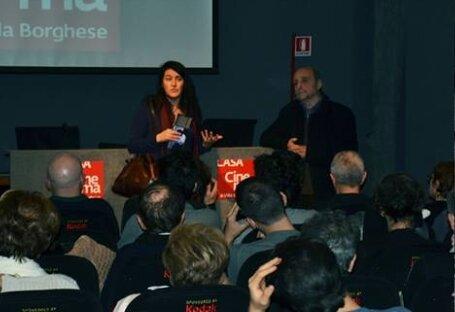 Marc Scialom e Silvia Tarquini, Casa del cinema, 19 novembre 2012