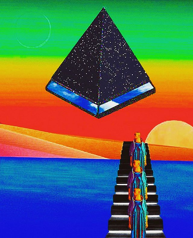 Trinities . . . #albumart #albumcover #vinylcover #analogcollagecommune #cutandpaste #afrofuture #collagist #collagee #collageartwork #trippy #psychedeliccollage #triangles #psychedelic chedelic #afrofuturism #blackwomen #blackmodels #space #collages #modernart #collageclub #newmedia #surreal42 #taxcollection #gluepaperscissors #contemporaryart #collage_guild #illustration #design #popart