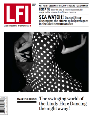LFI cover Leica Fotografie International - Maurizio Beucci