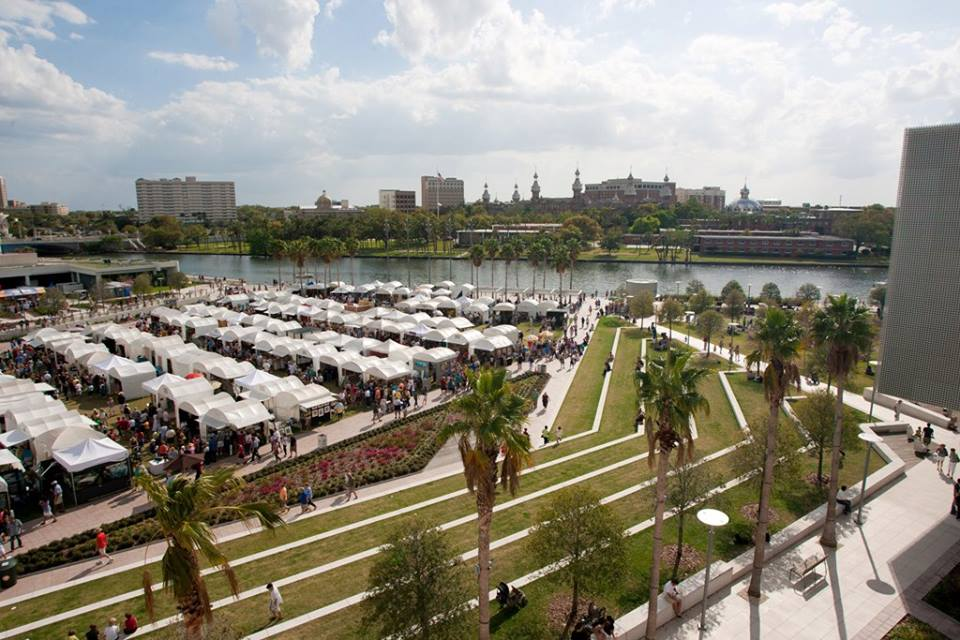 Love the view of University of Tampa (graduated UT 1991) in Sunny Spring!