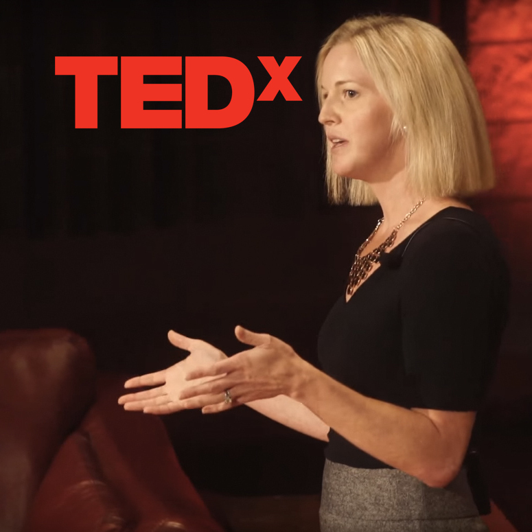 Lisa Abramson speaking at TEDx
