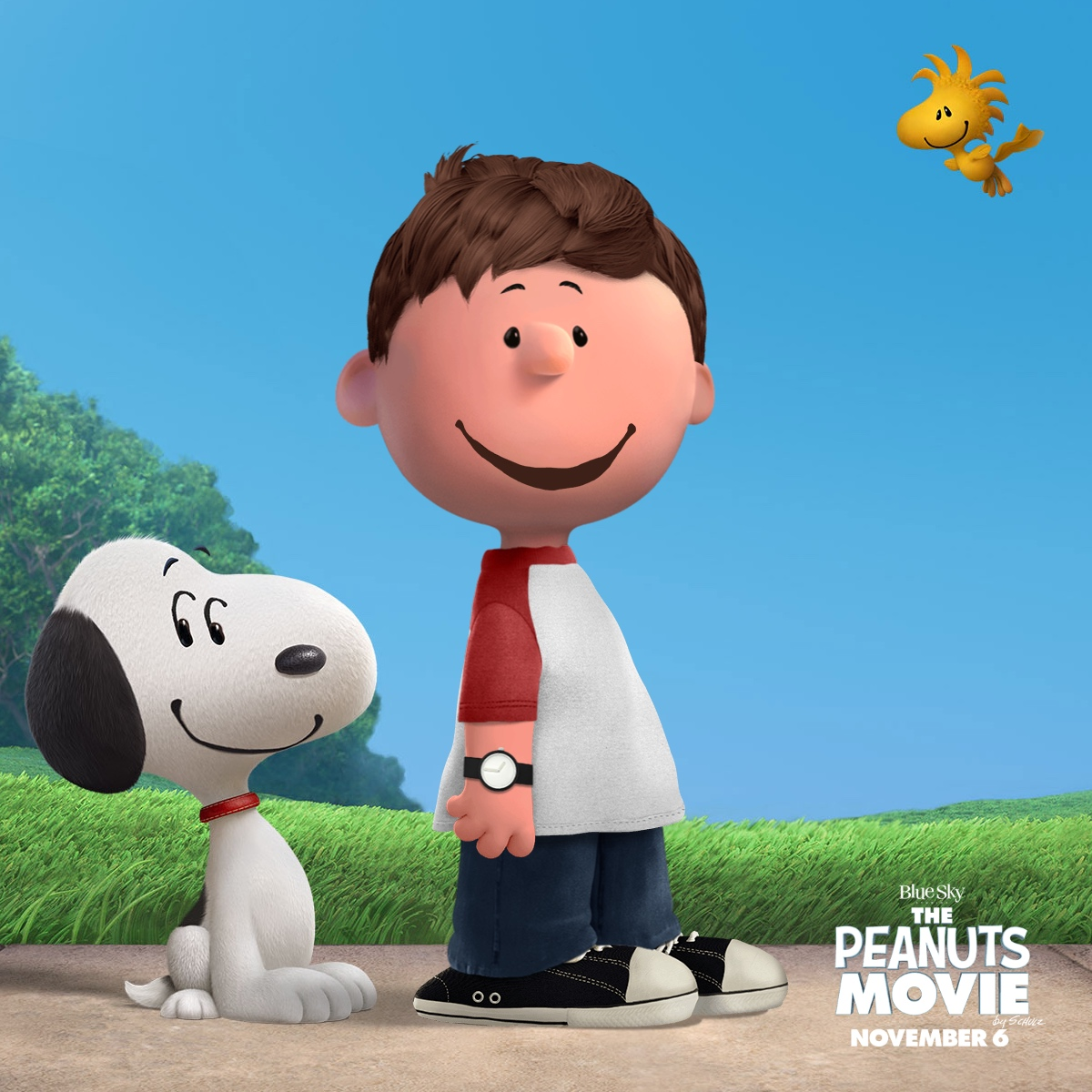 Phil as a Peanuts character!