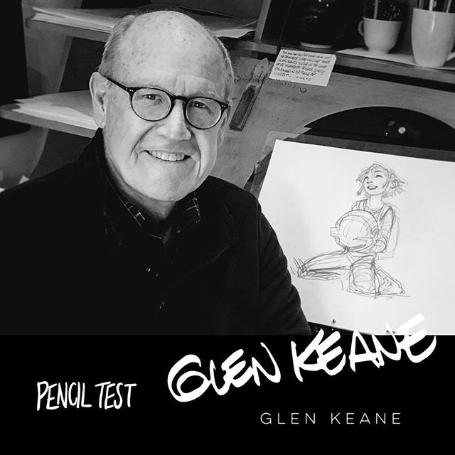 """We are super thrilled to announce that we are flying out to film one of our favorite animators, Glen Keane, to be in Pencil Test!Glen was a character animator at Walt Disney Animation Studios for films including """"The Little Mermaid"""", """"Beauty and the Beast"""", """"Aladdin"""", """"Pocahontas"""", """"Tarzan"""" and """"Tangled. Keane received the 1992 Annie Award for character animation, the 2007 Winsor McCay Award for lifetime contribution to the field of animation and in 2013 was named a Disney Legend. Glen also directed """"Dear Basketball"""", an animated short film based on Kobe Bryant's retirement poem in The Players' Tribune. Glen and Kobe won the Academy Award for Best Animated Short Film at the 90th Academy Awards for Dear Basketball. He is also directing the new Sony Pictures Imageworks animated film """"Over the Moon!"""" We can't wait to talk to Glen more about 2D animation!  Instagram = @glenkeaneprd Twitter = @glenkeaneprd  #thelittlemermaid #aladdin #beautyandthebeast #pocahontas #tarzan #tangled #dearbasketball #overthemoon #disneyanimation #2danimation #handdrawnanimation #traditionalanimation #disney #sketching #sketch #penciltest #penciltestmovie"""