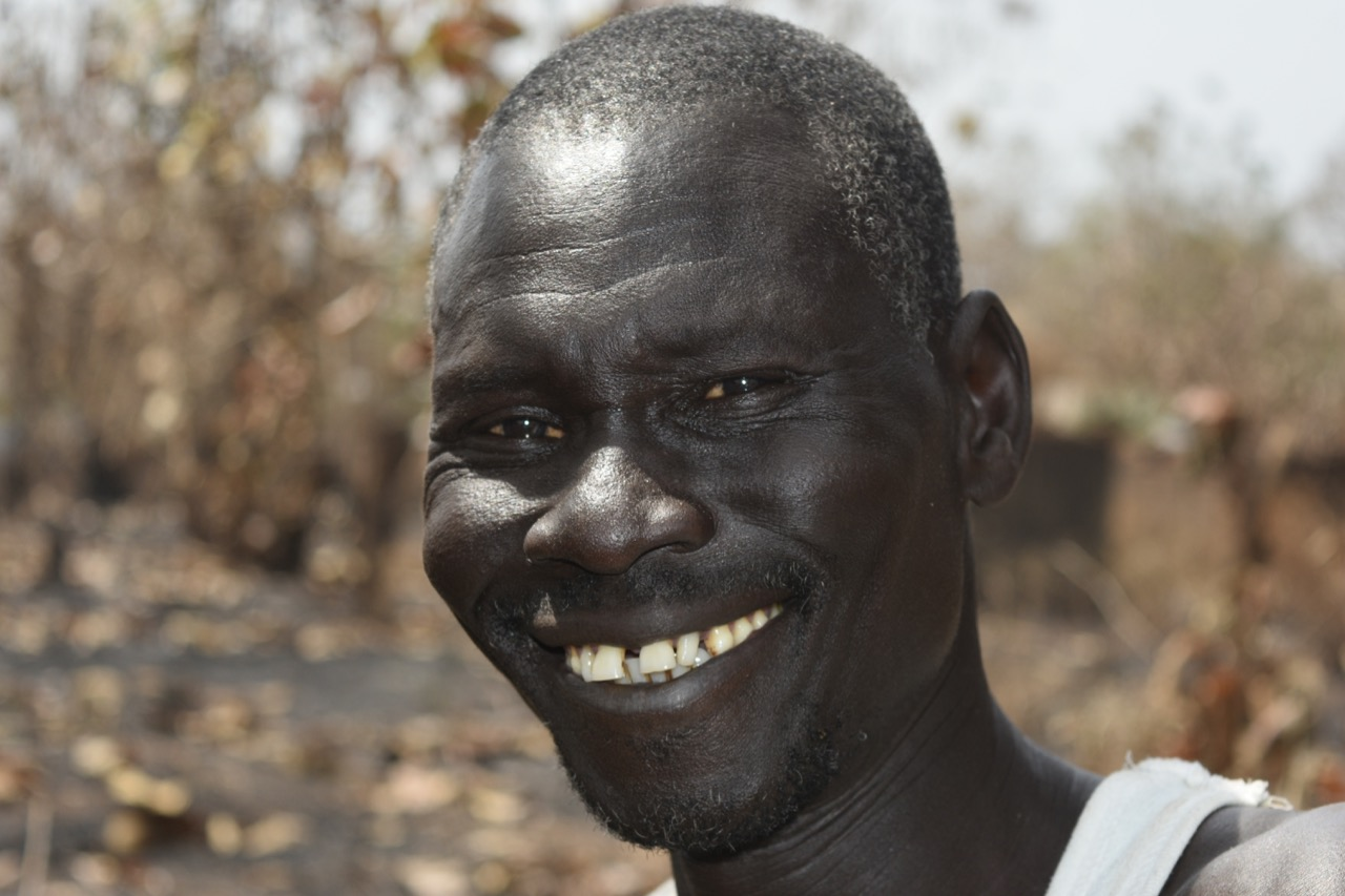 Michael is home! - He heard there was clean water and packed up his things…