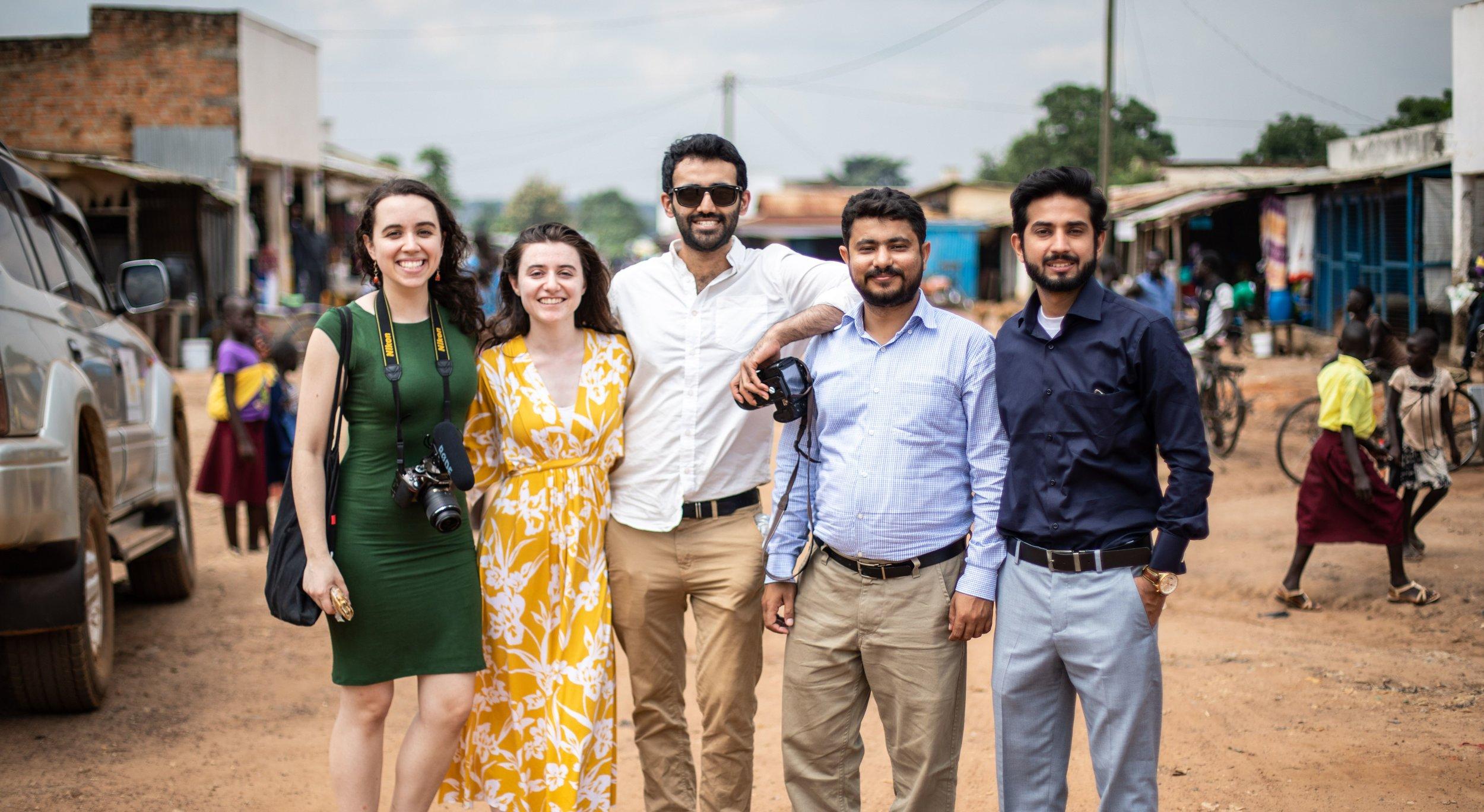 Bondh E Shams -  The Solar Water Project  Team