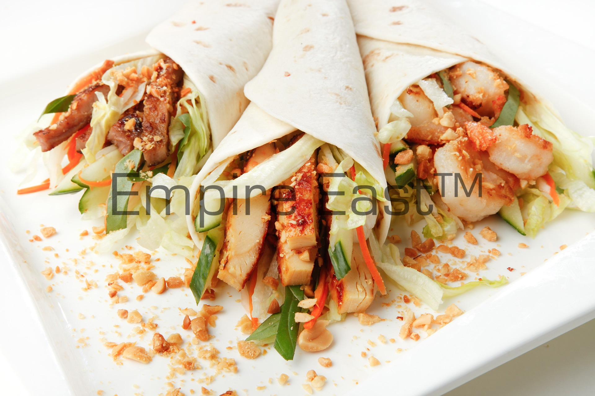 Grilled Asian Wraps ( Richmond Ave location only )