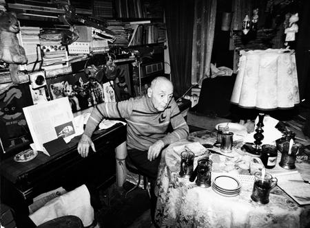 Kozin in his apartment in Magadan