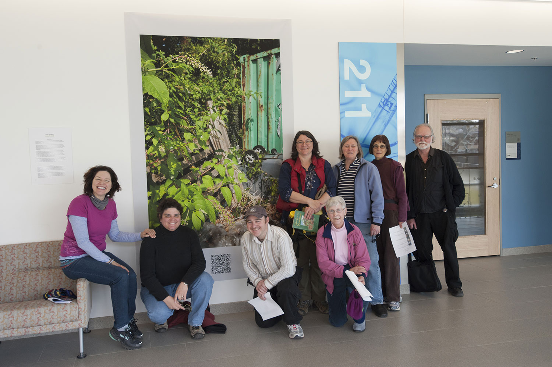 Plant walk and exhibition tour