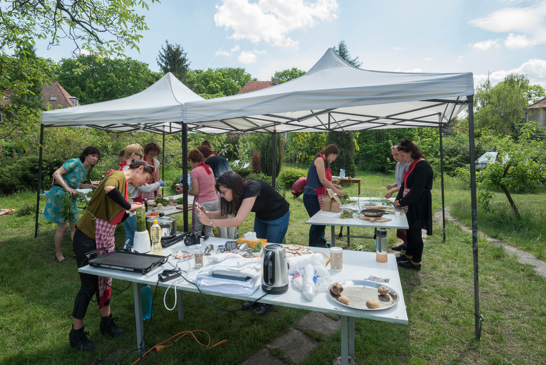 Urban Weed Eating Workshop