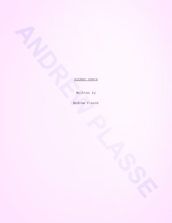 CLICK TO READ    My first (real) script.
