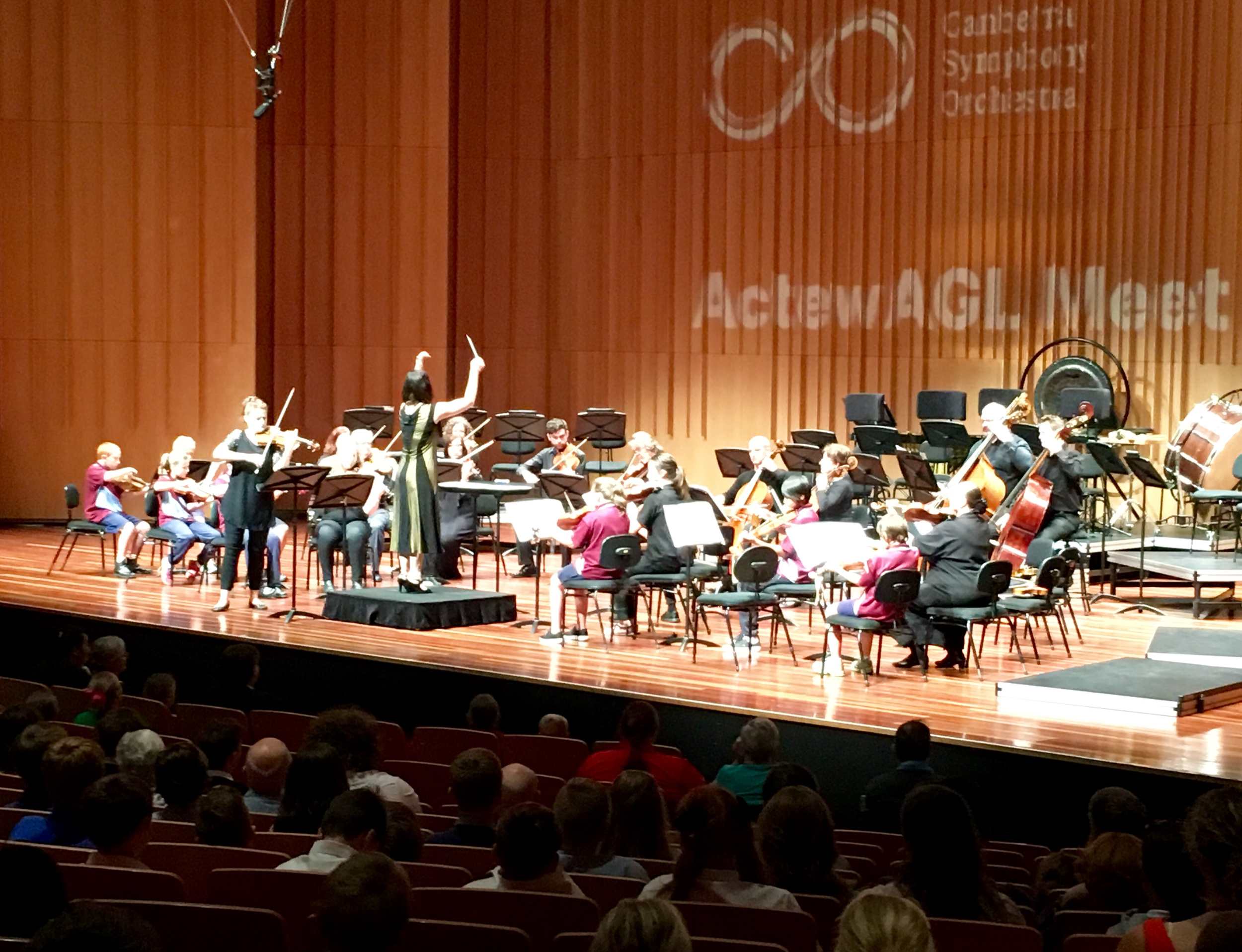 Canberra Symphony Orchestra and the Goulburn Strings Project