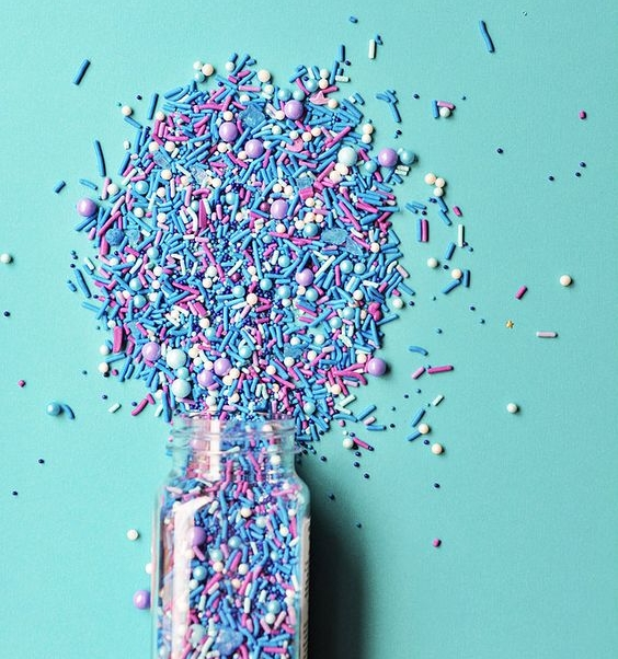 #1 DON'T: Don't exfoliate with sprinkles!