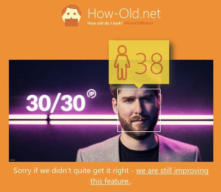 Ce dude-là, pas 30 ans.