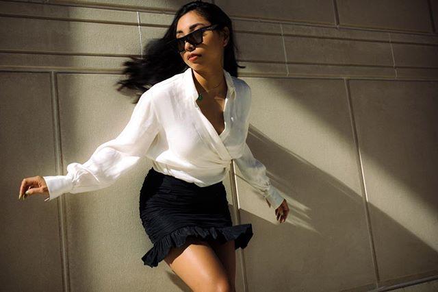 Swipe left... . Model || @genevieve.diaz . . . . #commedesgarcons #fashion #bayareaportraits #sanfrancisco #celine #hypebeaststyle #hypebae #style #commedesgarcons