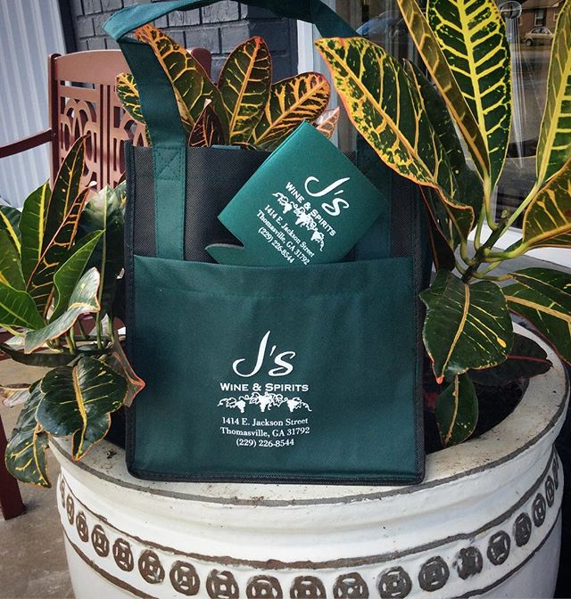 Fall is in the air 🍃 Come see us for all of your promotional products! Thank you @js_wine_spirits for trusting us with your promo needs.  1720 Smith Ave. Thomasville, GA 31792 (229)228-7575 . . . #skylinegraphicsmedia #shoplocal #promotionalproducts #promoproducts #thomasvillega #tallahasseefl  #winetotes