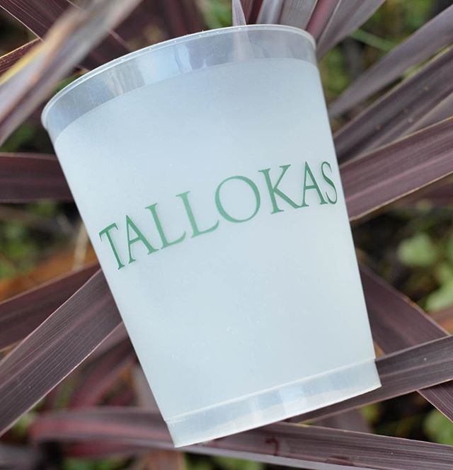 Take your event to the next level with custom frosted glasses! It's all in the details and personalized touches like these tumblers are sure to elevate your event to an elegant affair! #skylinegraphicsmedia #plantation #personalizedglasses #partyware #frostedcups #celebrate