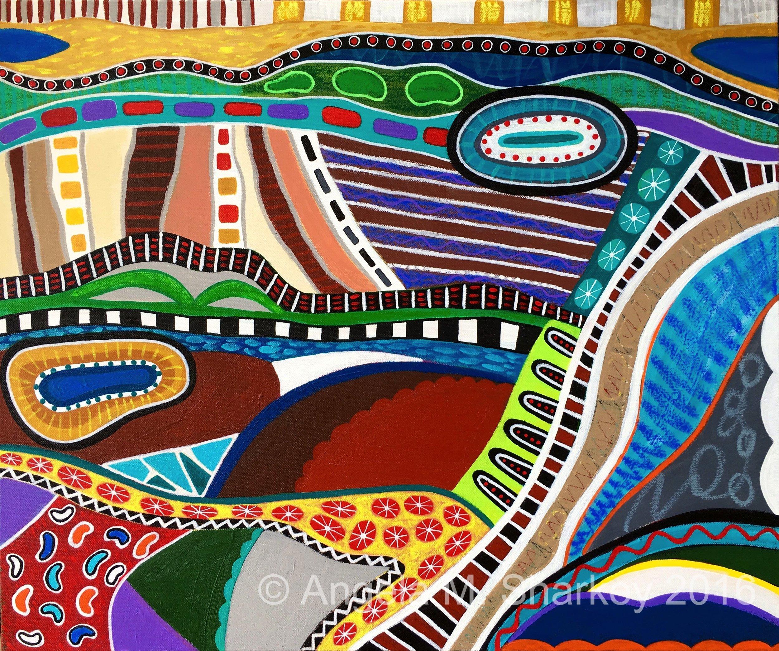 Harmony    Acrylic on Canvas-