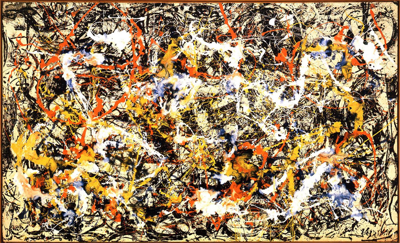 Jackson Pollock,  Convergence , 1952
