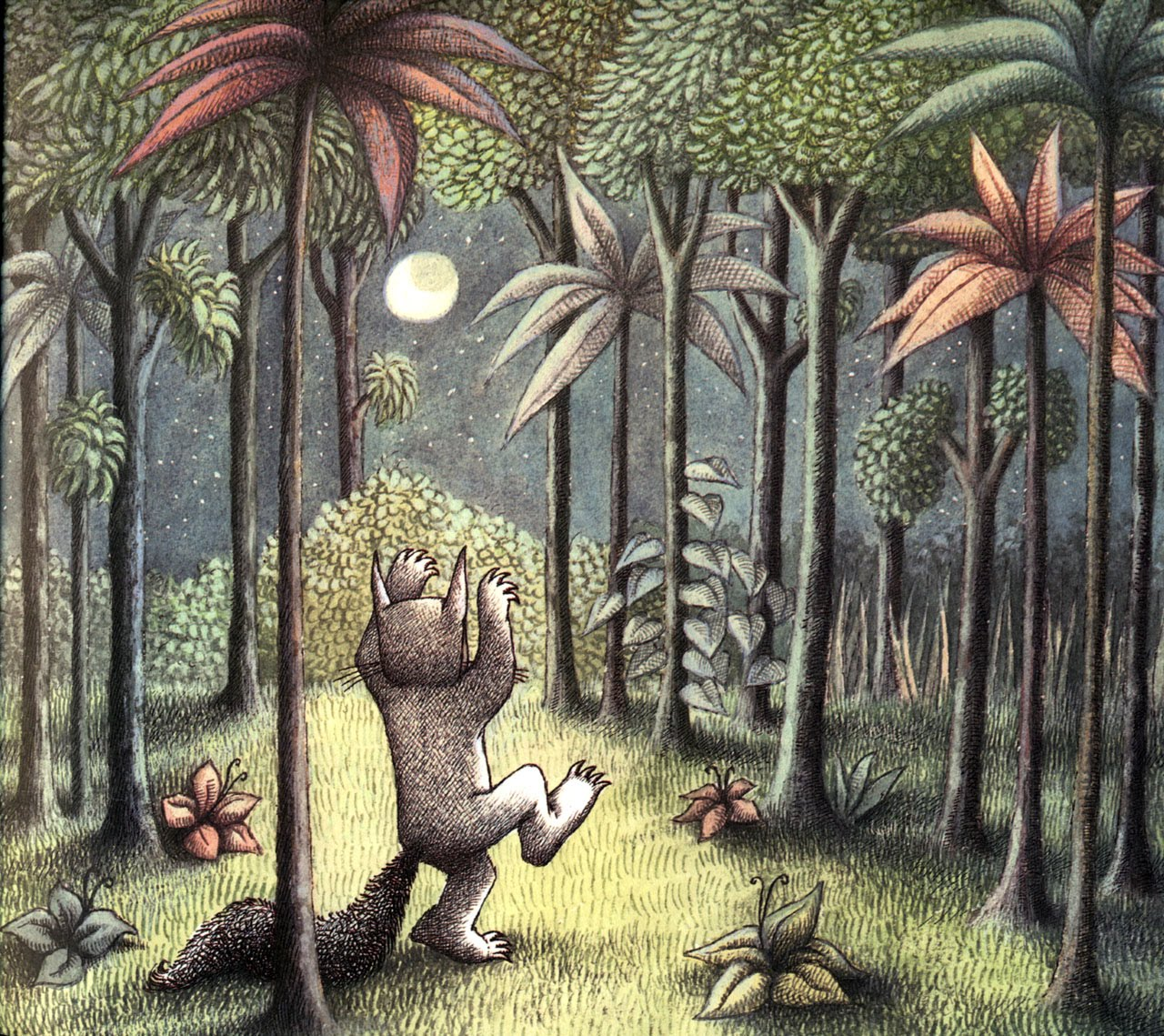 From  Where the Wild Things Are , by Maurice Sendak