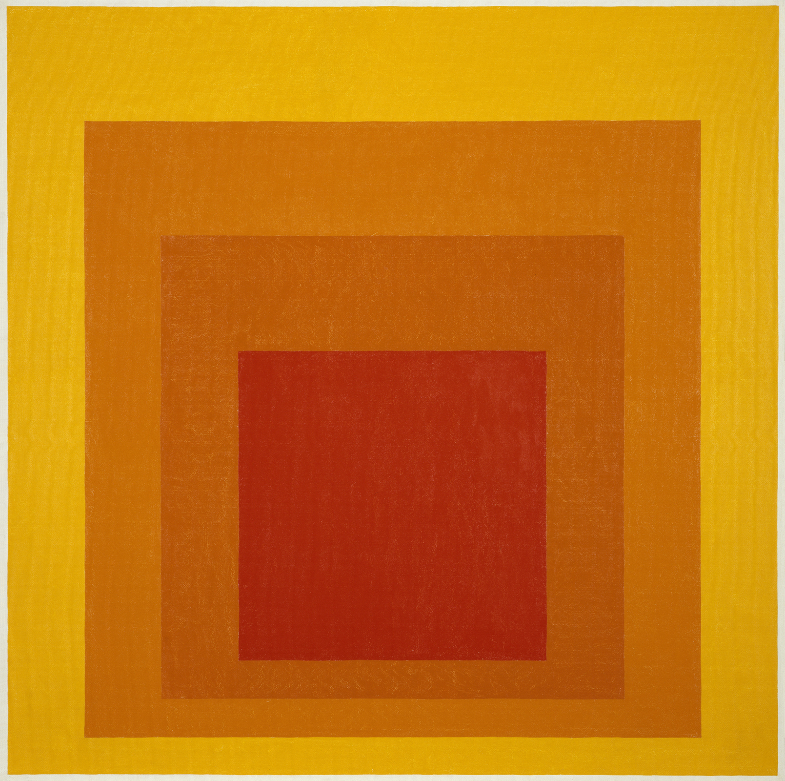 Josef Albers,  Homage to the Square: Glow , 1966