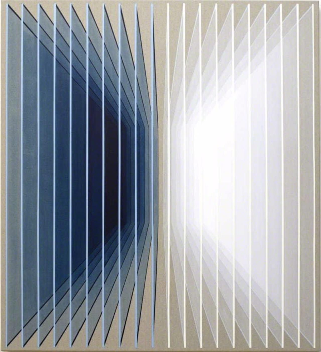 Daniel Mullen, 90's-00's, 2019, Acrylic on canvas, 110 x 100 cm.