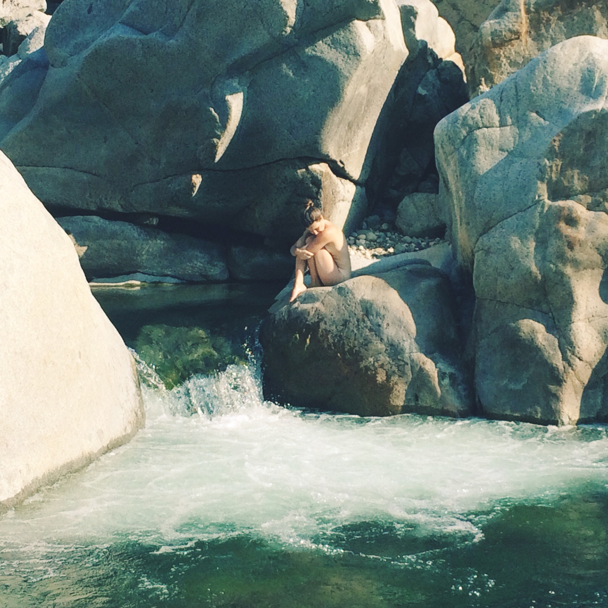 I never would have dreamed of being naked in public back then. I still feel vulnerable being naked at the river in the summertime now, but the feeling of that mountain water on my skin is too ecstatic and freeing to resist and it always wins out over the lingering body shame.