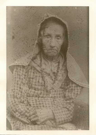 My 5th great grandmother, Millie Gilliland, born in North Carolina in 1800