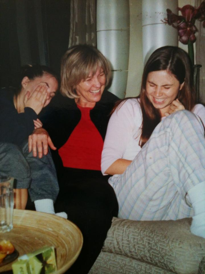 My favorite picture of my sister, my mom, and me. San Francisco, 2001.