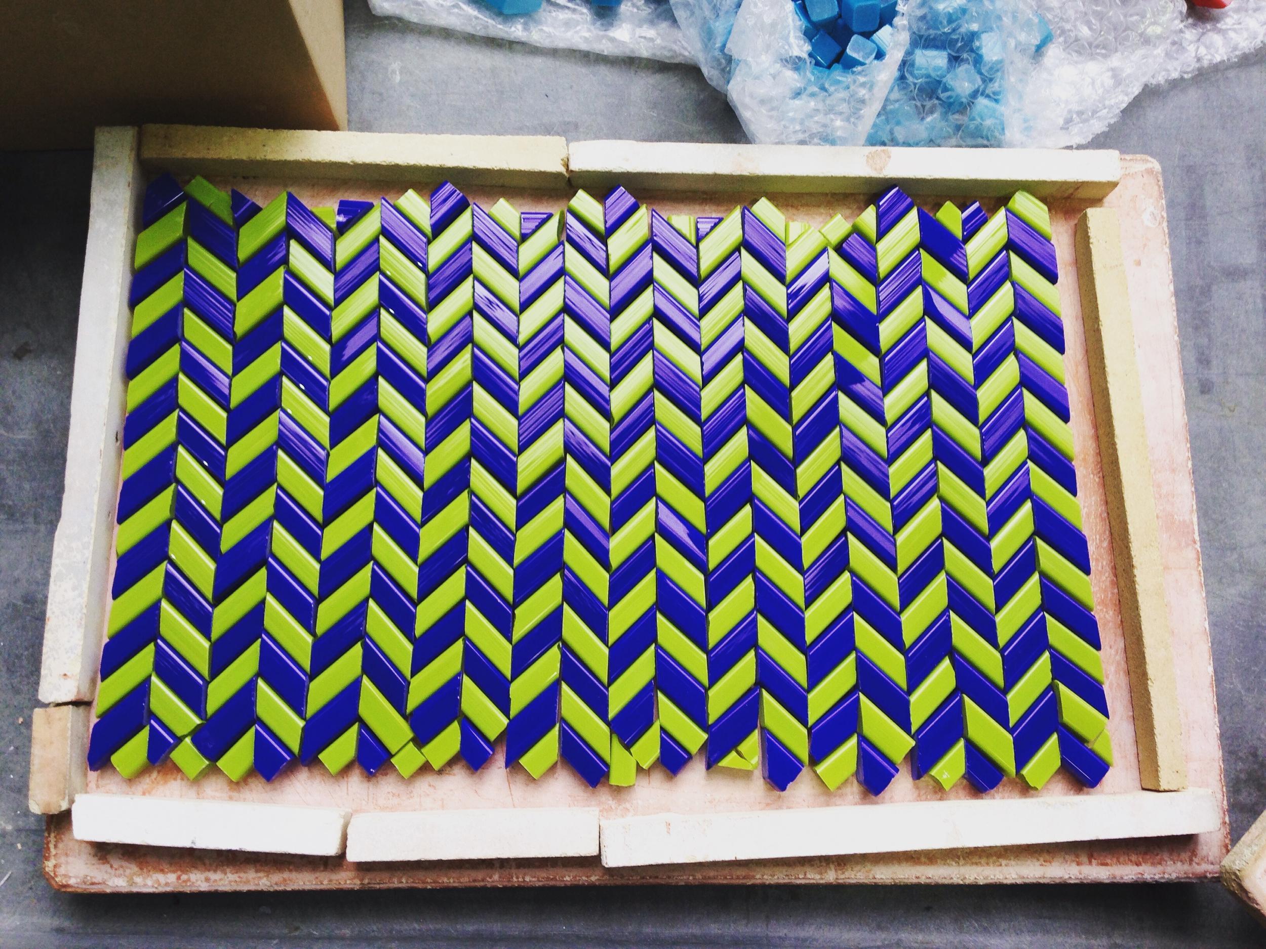 Weave mosaic