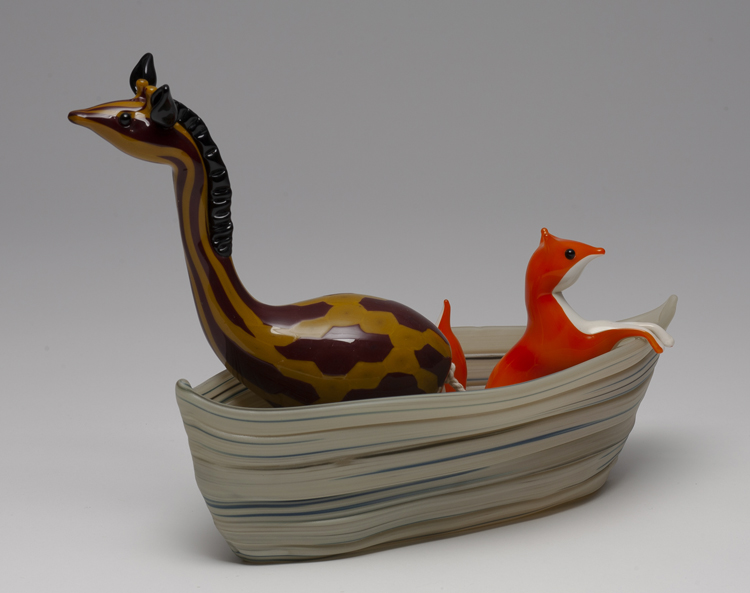 Life Boat (Giraffe and fox)